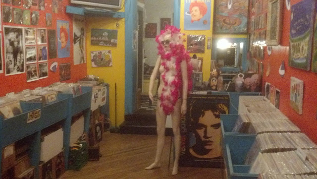 Tropicalia in Furs - Store Interior - East Village New York City