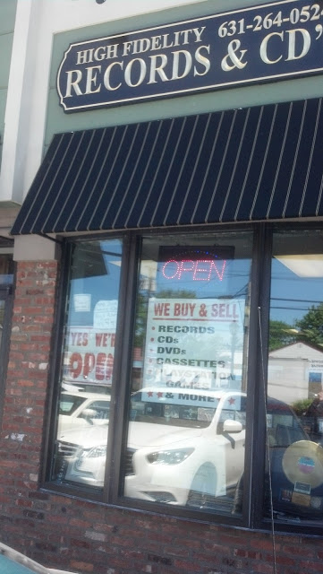 High Fidelity Records - Amityville (Long Island) New York - Store Front