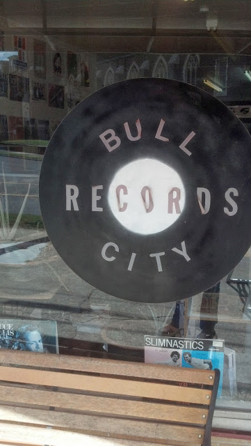 Bull City Records - Durham North Carolina - Store Front