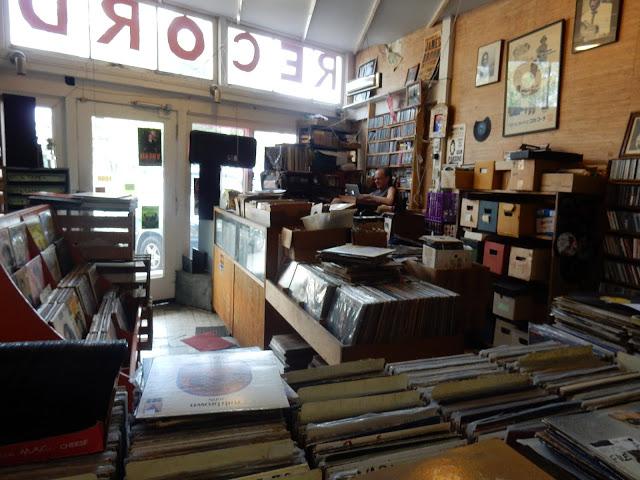 Audiomania Records - Memphis Tennessee store interior