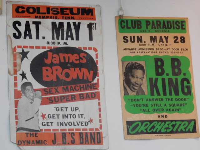 Audiomania Records - Memphis Tennessee store posters