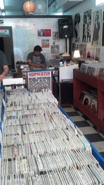 Bull City Records Durham North Carolina store interior