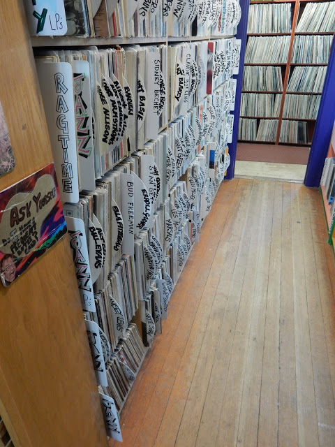 House of Records - Eugene Oregon - record dividers
