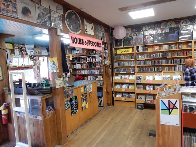 House of Records - Eugene Oregon - store interior