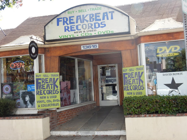 Freakbeat Records - Sherman Oaks, Los Angeles CA - store front