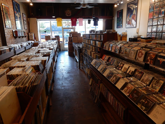 Atomic Records - Burbank California - store interior
