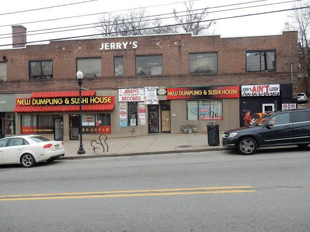 Jerry's Records - Pittsburgh Pa. - Store Front