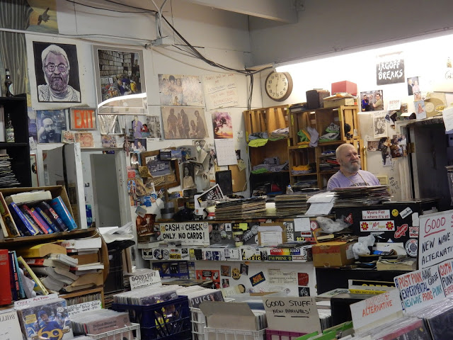 Jerry's Records - Pittsburgh Pa. - counter