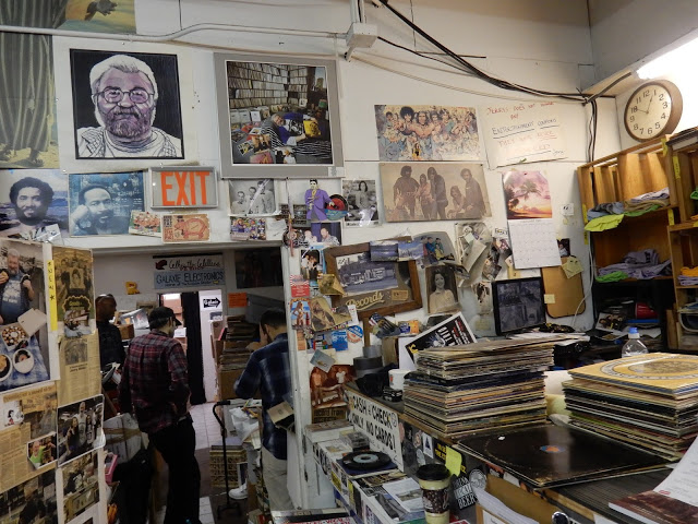 Jerry's Records - Pittsburgh Pa. - store interior