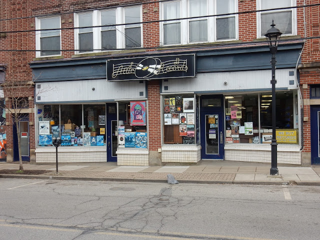 Attic Records - Pittsburgh PA - store front