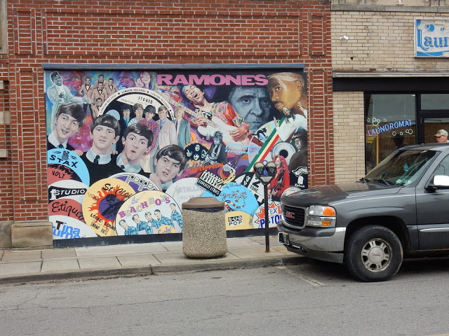 Attic Records - Pittsburgh PA - mural