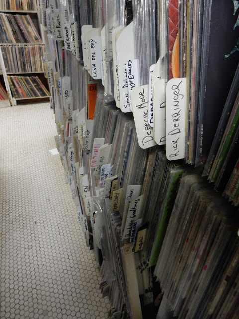 Attic Records - Pittsburgh Pa - the stacks