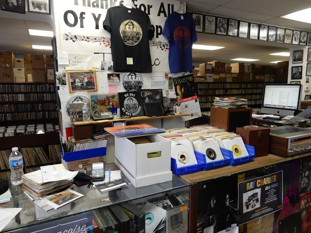 Attic Records - Pittsburgh PA - store counter