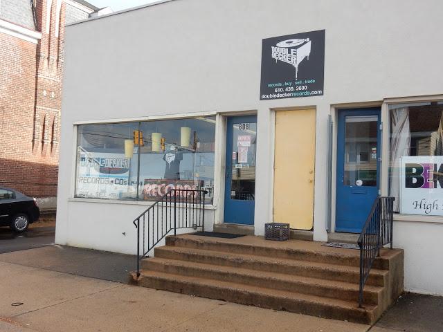 Double Decker Records - Allentown Pa - store front