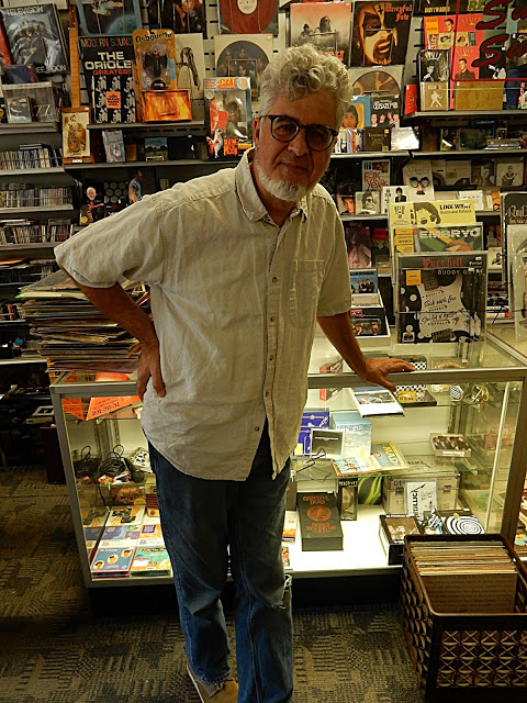 Record Collector - Bordentown NY - co-store owner John Chrambanis