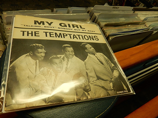 Record Collector - Bordentown NJ - Temptations My Girl