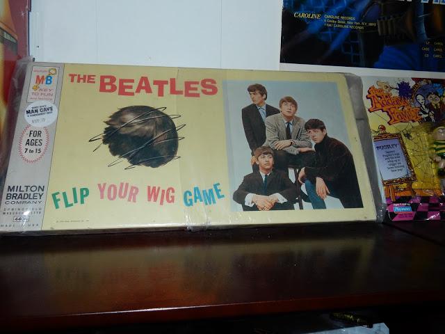Randy Now's Man Cave - Bordentown NJ - Beatles Flip Your Wig