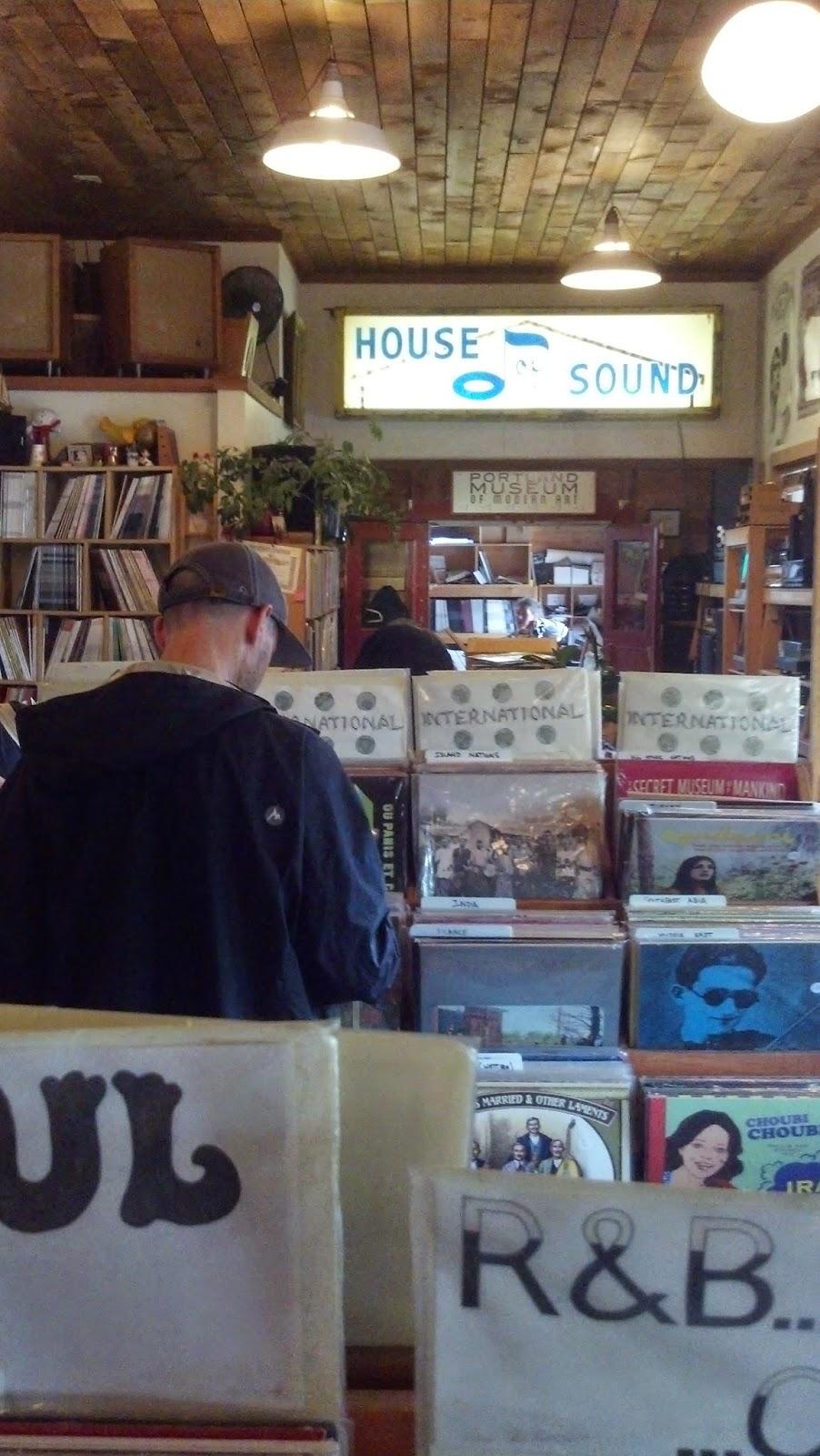 Mississippi Records - Portland Oregon - store interior