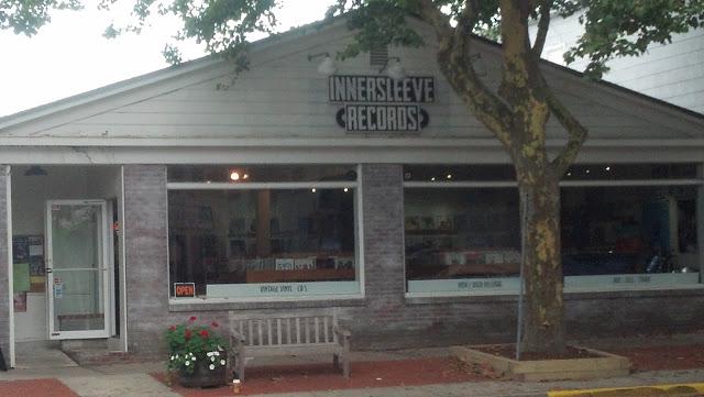 Innersleeve Records Amagansett New York Store Front