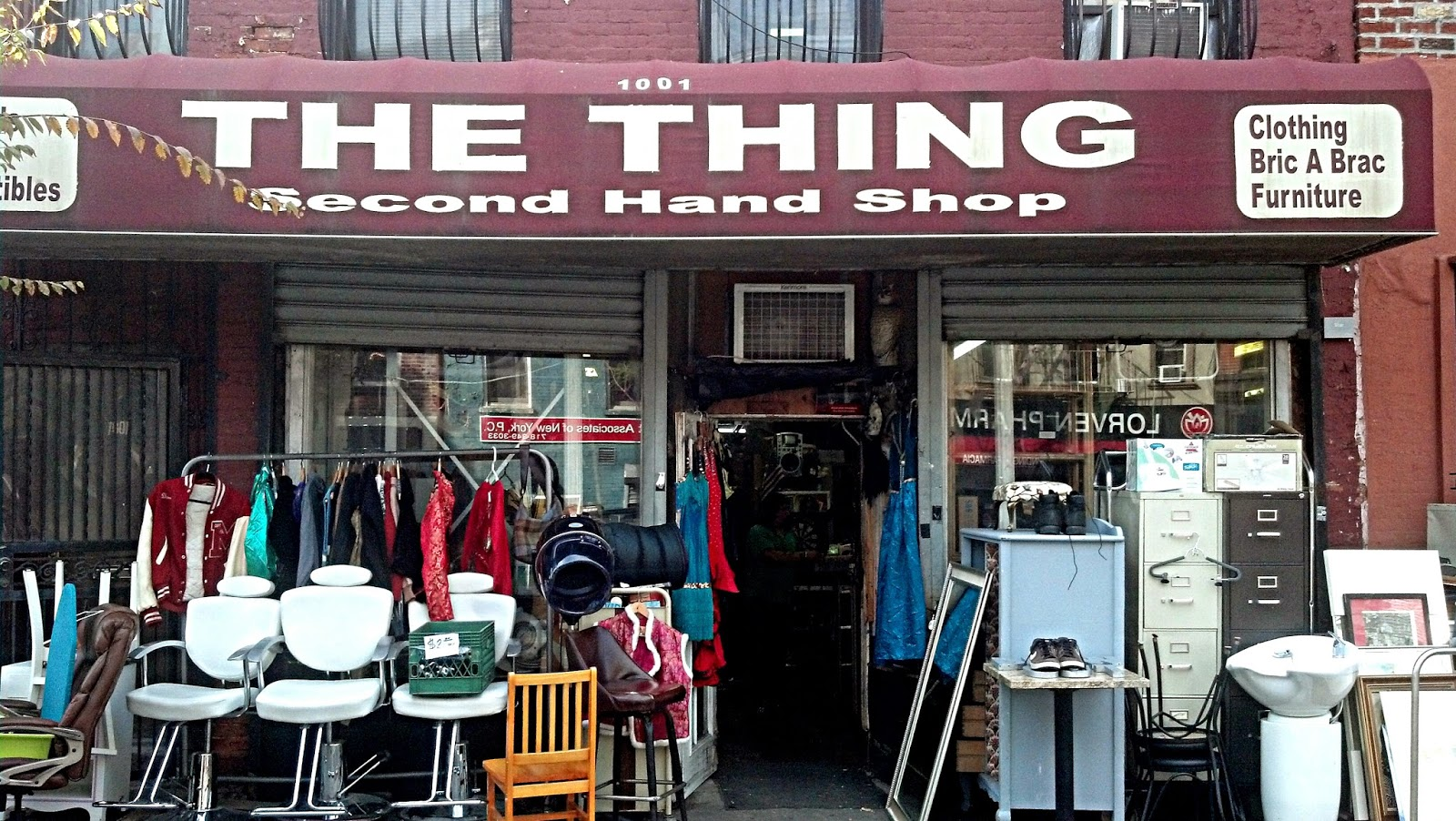 The Thing Thrift Shop and Record Store Brooklyn New York Store Front