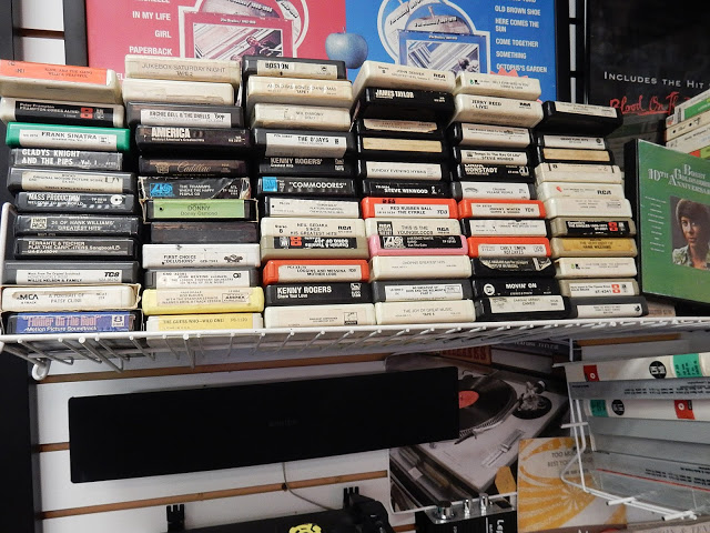 Merle's Record Rack - Orange Connecticut - 8 Tracks