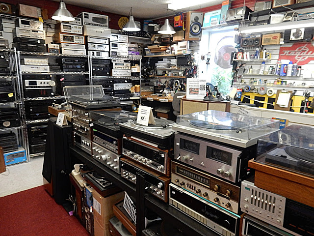 Merle's Record Rack - Orange Connecticut - stereo equipment