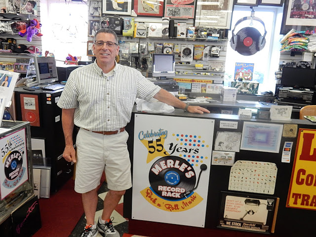 Merle's Record Rack - Orange Connecticut - Mike Papa