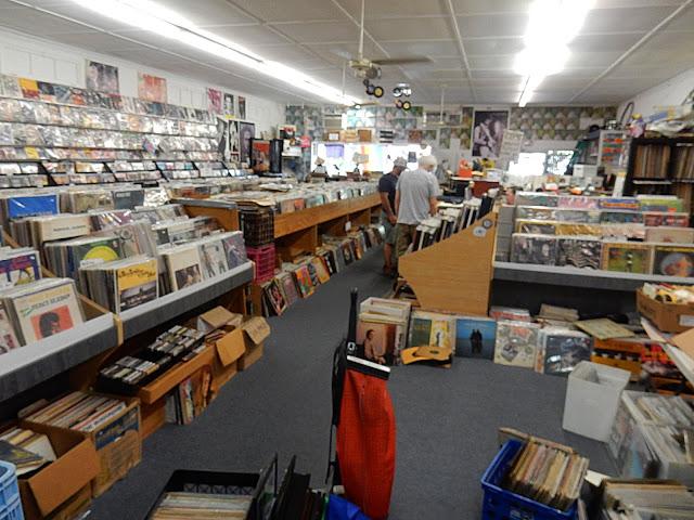 Mobile Records - store interior - Mobile Alabama