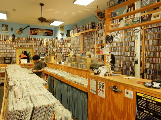 Planet Records - Cambridge Massachusetts - interior