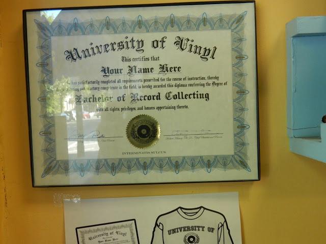 Planet Records - Cambridge Massachusetts - University of Vinyl diploma