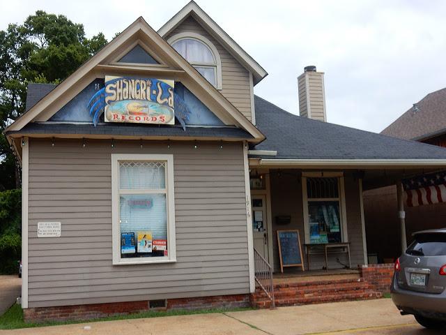 Shangri-La Records - exterior - Memphis, Tennessee