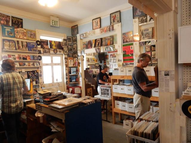 Shangri-La Records - store interior - Memphis Tennessee