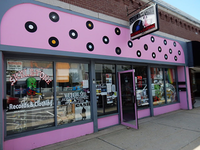 Skele-tone Records - Store Front - Rochester New Hampshire