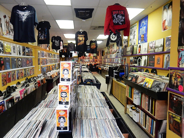 Skele-Tone Records - interior - Rochester New Hampshire