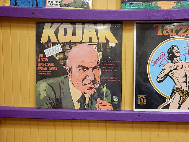 Telly Savalas a/k/a Kojak courtesy Skele-Tone Records