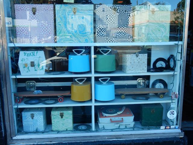 Vinyl Guru - Newport Rhode Island - store window