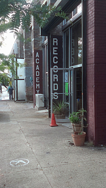 Academy Records Annex Greenpoint Brooklyn Store Front