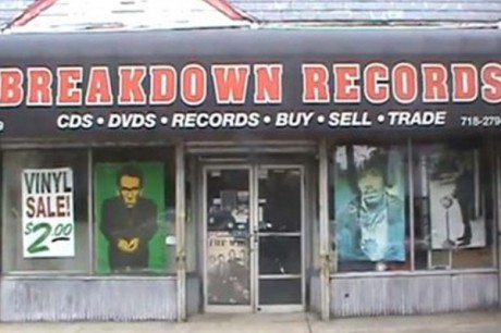 Breakdown Records Record Store Bayside Queens New York Store Front