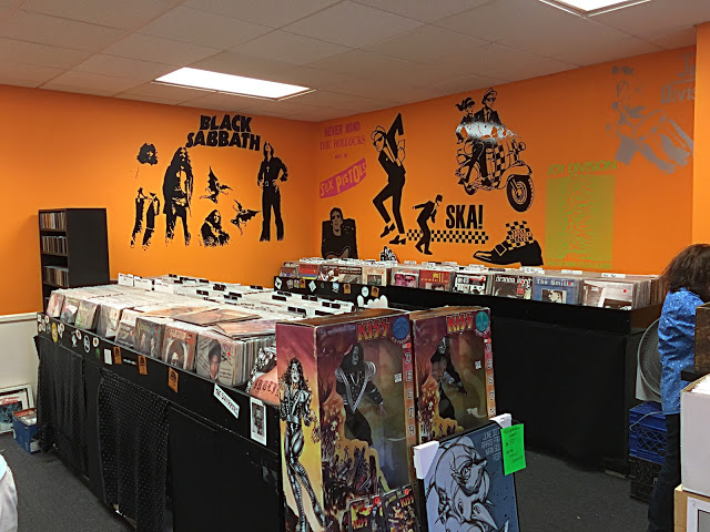 Clockwork Records - Hastings-On-Hudson NY - store interior
