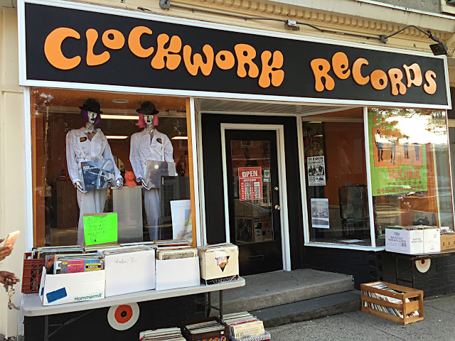 Clockwork Records - Hastings-On-Hudson NY - store front