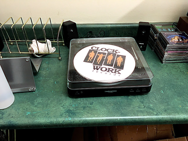 Clockwork Records - Hastings-On-Hudson NY - listening station