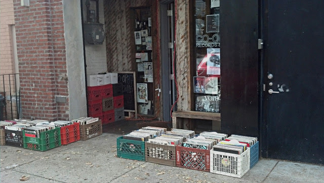Co-Op 87 Record Store Greenpoint Brooklyn Store Front