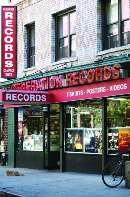 Generation Records Record Store Greenwich Village New York Store Front