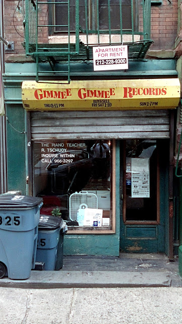 Gimme Gimme Records East Village New York City Store Front