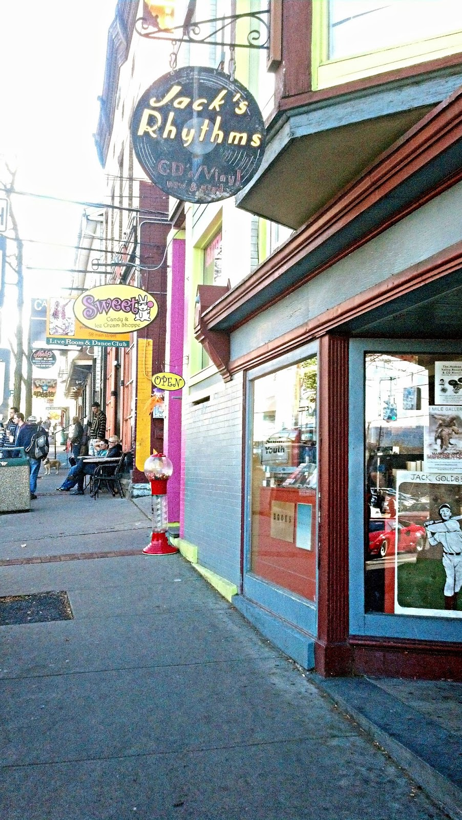 Jack's Rhythms New Paltz NY - Store Front