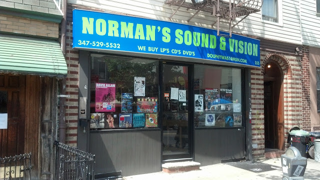 Norman's Sound & Vision - Brooklyn New York Record Store