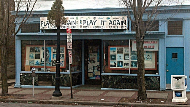 Play It Again Record Store Bethlehem Pa. Store Front