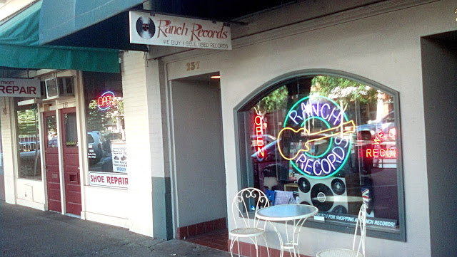 Ranch Records Record Store Salem Oregon Store Front