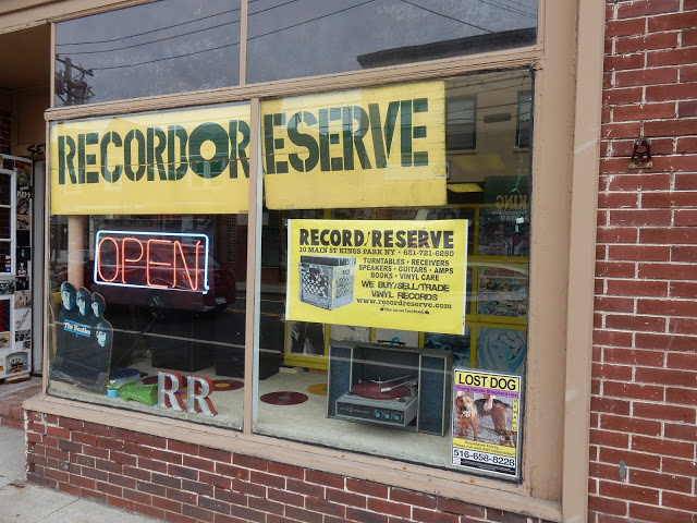 Record Reserve Record Store Kings Park Long Island Store Front