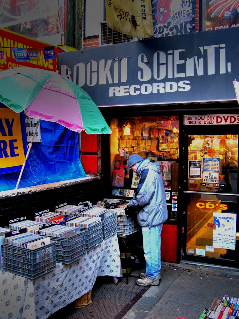 Rockit Scientist Record Store East Village New York City